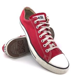 Converse Chuck Taylor All Star Ox RED Sneakers 12